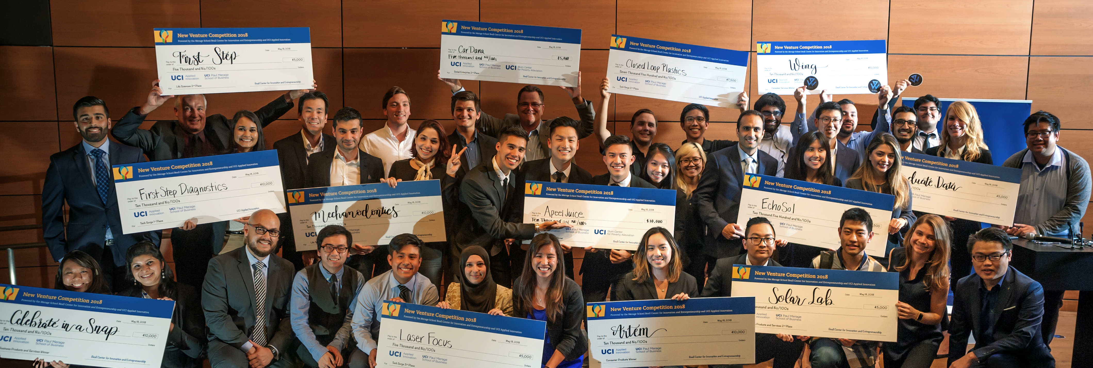 New Venture Competition 2018 Winners