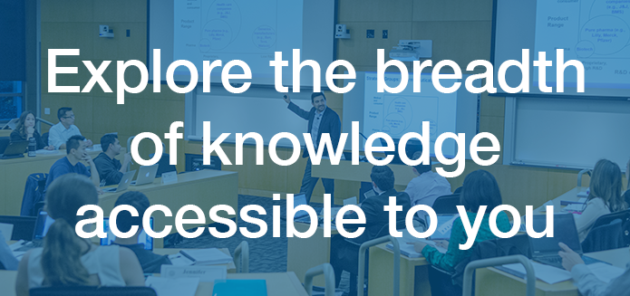 Explore the breadth of knowledge accessible to you