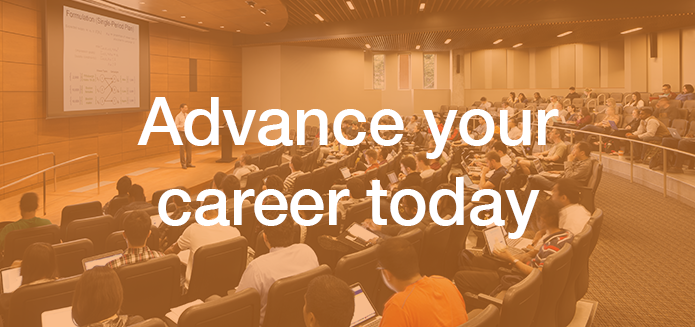 Advance your career today